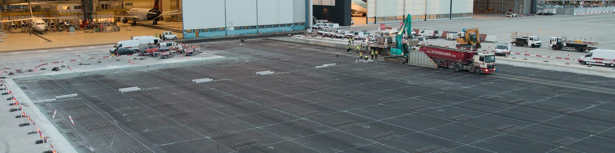 Concrete pavements  & linear elements